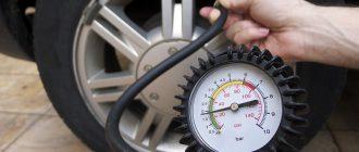 Какое нормальное давление в шинах легкового автомобиля