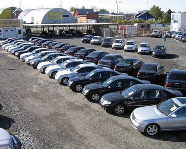Стоимость машин за границей