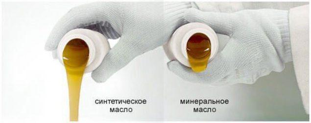 Минеральные продукты и синтетика