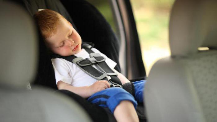 Где в машине безопасное место для ребенка