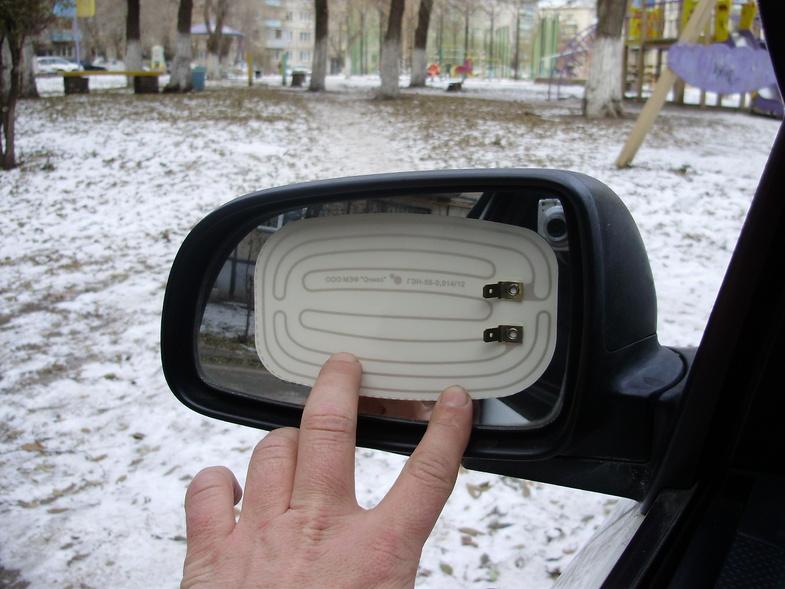 Обогрев зеркал заднего вида своими руками