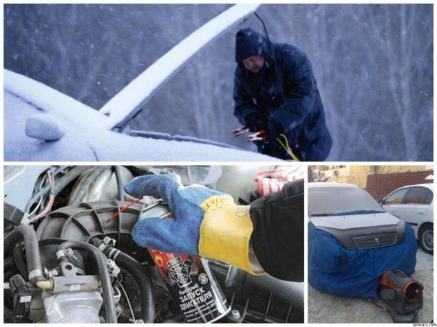 Как облегчить старт дизельного авто зимой
