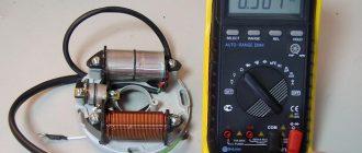 Как проверить катушку зажигания на двигателе