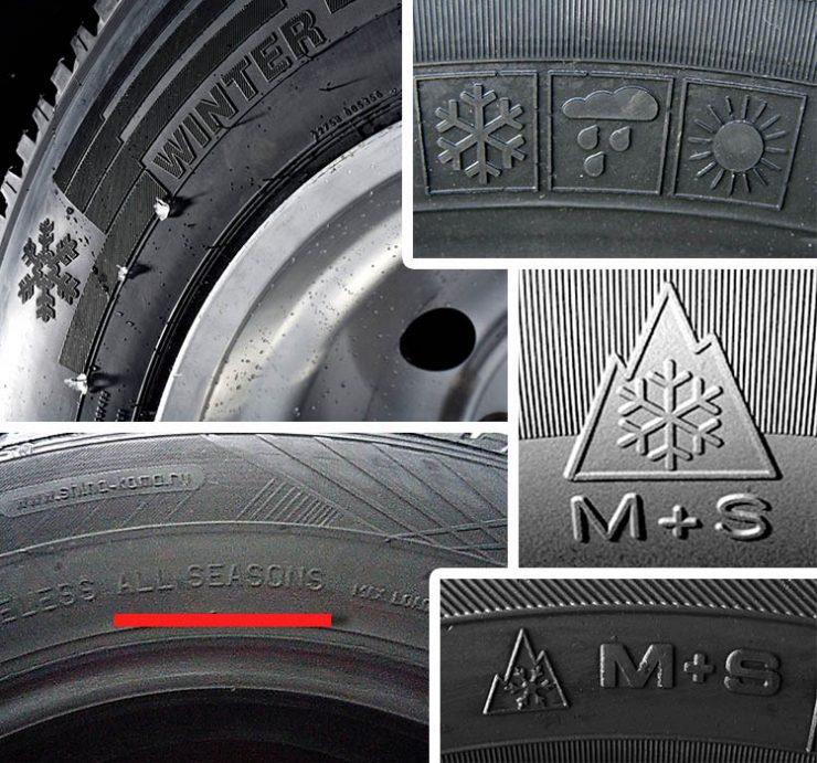 Что означает маркировка на шинах автомобиля