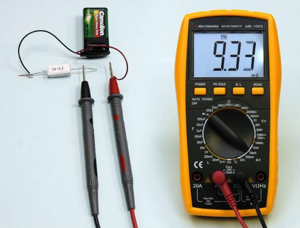 как проверить ток мультиметром