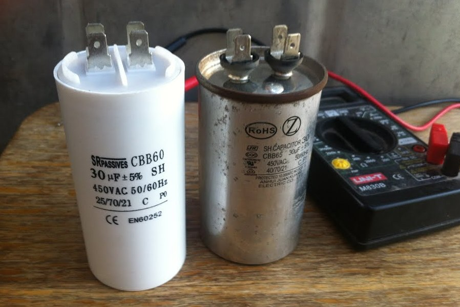 • как проверить конденсатор мультиметром