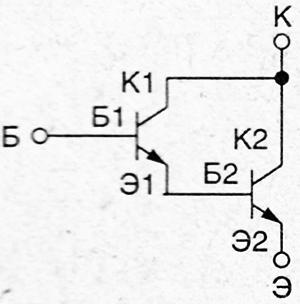 Проверка составного транзистора